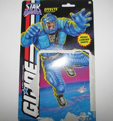 1994 GI Joe Effects Card Front