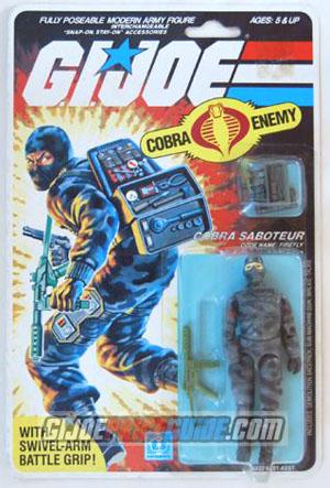 Carded Cobra Firefly 1984