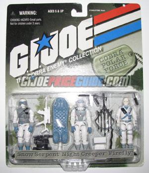Carded 1998 Cobra Polar Force