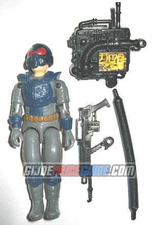 Night Force Charbroil 1989 GI Joe figure