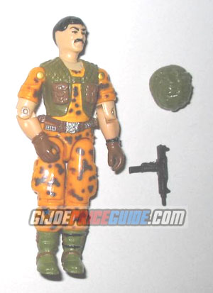Claymore 1986 GI Joe figure