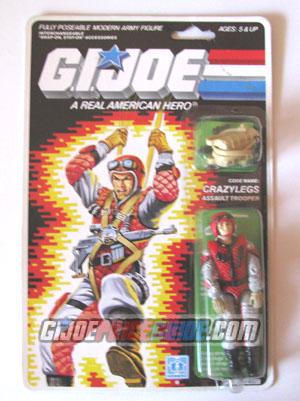 Crazylegs 1987 GI Joe figure