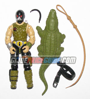 Cobra Croc Master 1987 GI Joe figure