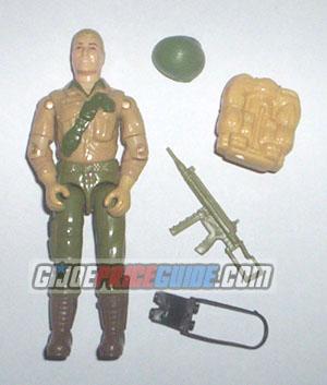 Duke 1983 and 1984 GI Joe Figure