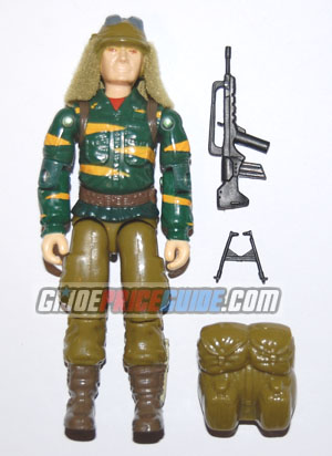 Tiger Force Dusty 1988 GI Joe figure