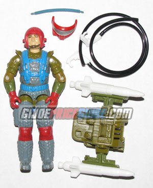 Fast Draw 1987 GI Joe figure