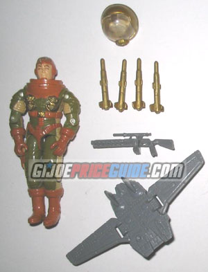 GI Joe General Hawk 1991 figure