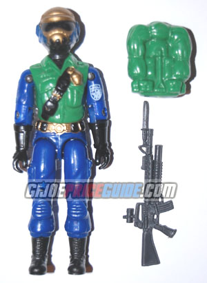 Gold Head Steel Brigade GI Joe figure