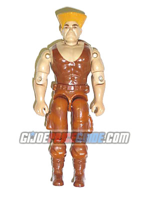 GI Joe Street Fighter Brown Guile