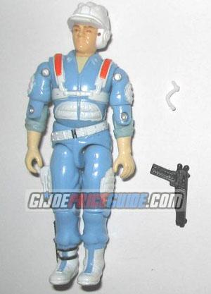 Hardtop 1987 GI Joe figure with mic and pistol