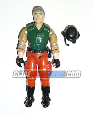 GI Joe Hot Seat 1989 figure