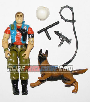 Law & Order 1987 GI Joe figure