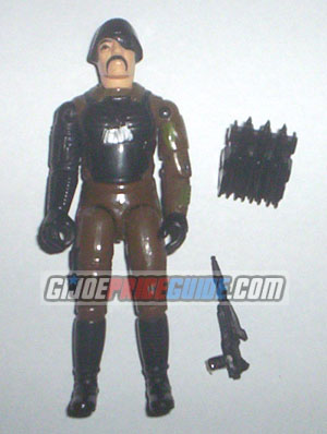 Cobra Major Bludd 1983 figure