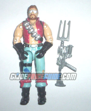 Cobra Monkeywrench Dreadnok figure 1986