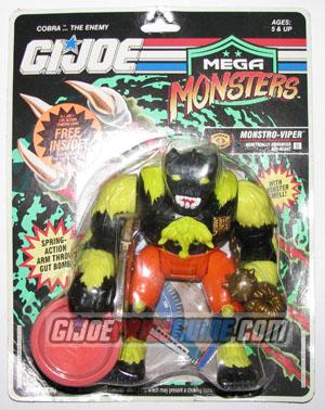 Monstro-Viper 1993 GI Joe figure