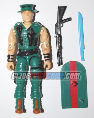 Muskrat 1988 GI Joe figure
