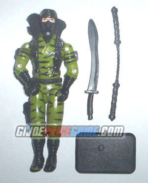 Nunchuck 1992 Ninja Force GI Joe figure