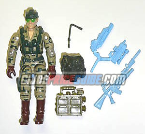 Recoil 1989 GI Joe figure