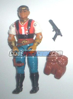 Red Dog 1987 GI Joe figure