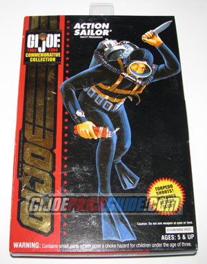 Action Sailor 1994 GI Joe Box