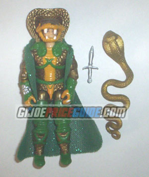 Cobra Serpentor figure 1986