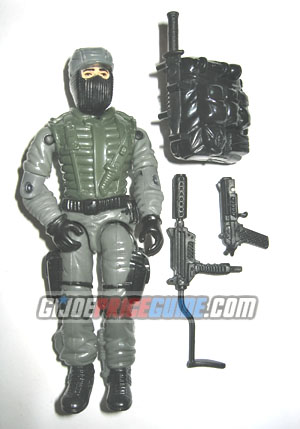 Night Force Shockwave 1989 GI Joe figure