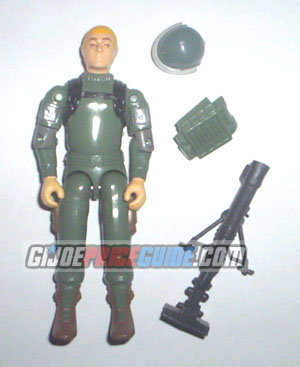 Short-Fuze 1983 swivel arm GI Joe figure