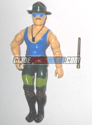 Sgt. Slaughter 1989 GI Joe figure