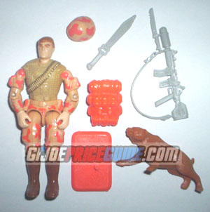 Spearhead and Max 1988 GI Joe figure
