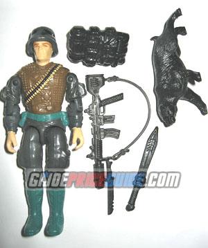 Night Force Spearhead & Max 1989 GI Joe figure