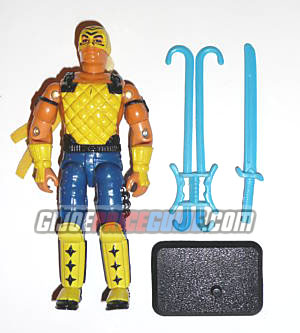 T'Jbang 1992 GI Joe figure