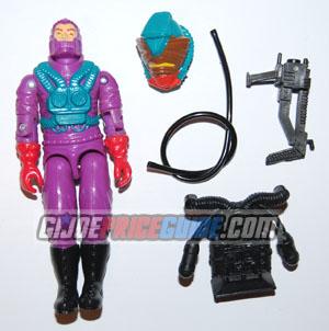 Cobra Toxo-Viper 1988 figure