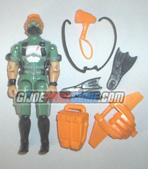 Wet-Suit GI Joe figure 1986